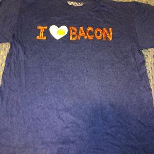 I love bacon Medium size tee
